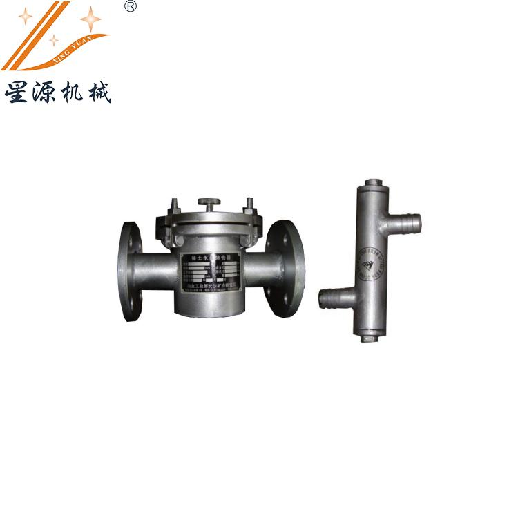 稀土永磁管道式除铁器