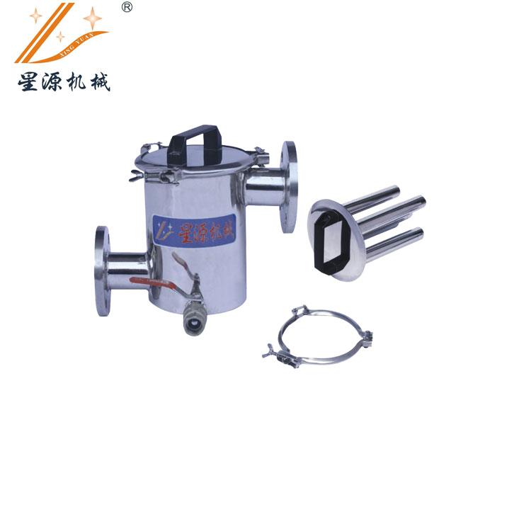 XYYC-140G  管道式永磁除铁器